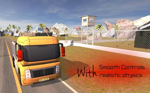 Offroad Heavy Cargo Truck 2017 apk screenshot
