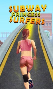Subway Princess Surfers screenshot 2