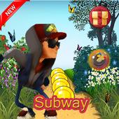 Subway Jack Temple Run icon