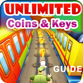 Keys Subway Surfer Coins Guide icon