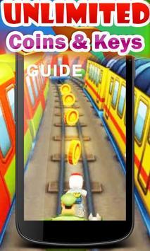 Keys Subway Surfer Coins Guide apk screenshot
