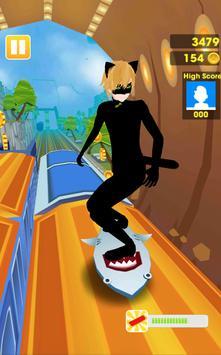 Subway Ladybug Surf Rush Rail 3D apk screenshot