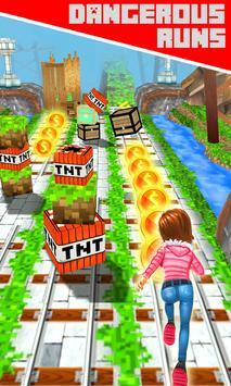 Subway Craft Runner screenshot 3