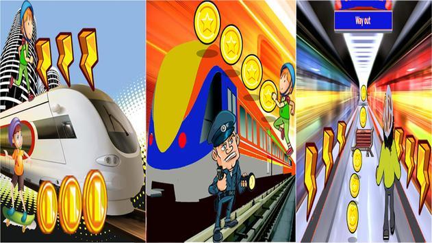 Subway Rail Rush Game FREE! apk screenshot