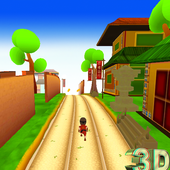 Target Subway Mario Run 3D icon