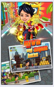 Subway Shiva Cycle poster
