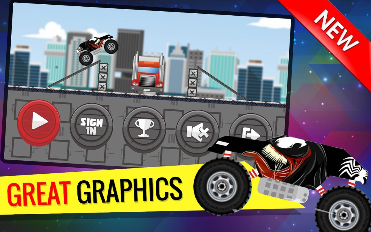 Monster Car Venom Racing Game For Android Apk Download