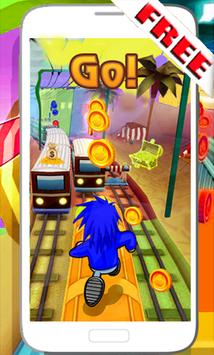 Subway Soni Frozen games apk screenshot