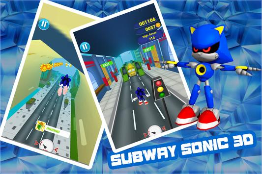 subway shadow sonic adventures poster