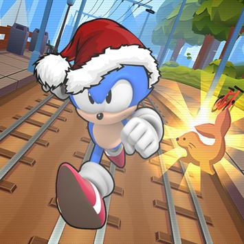 Subway Sonic Surf Adventure poster