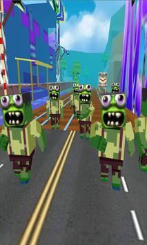 Subway - Zombie of Tsunami screenshot 2