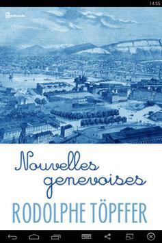 Nouvelles genevoises poster
