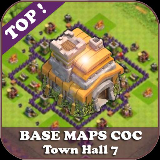 Top Base Maps COC TH 7 for Android - APK Download