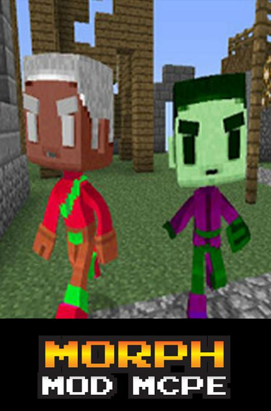 how to download morph mod mcpe