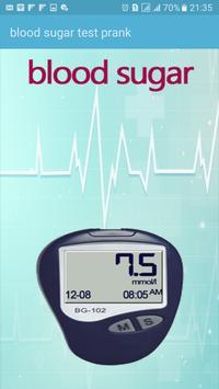 blood sugar test prank poster