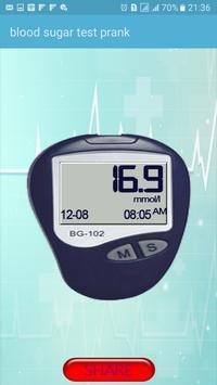 blood sugar test prank apk screenshot