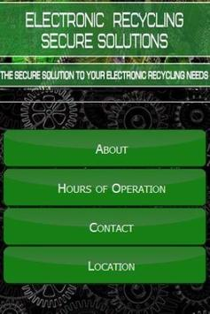 Electronic Recycling Co. poster