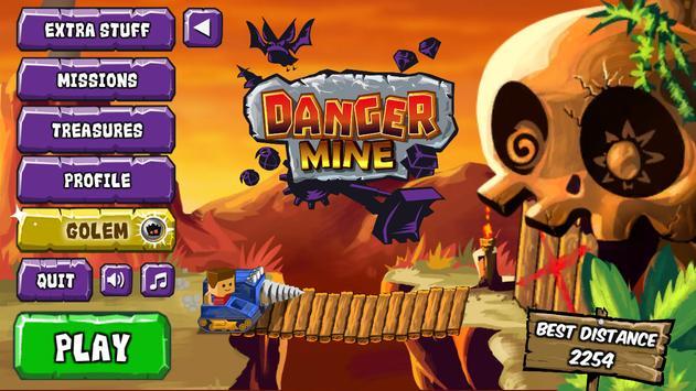 Danger Mine - Quest for Loot! apk screenshot