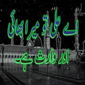 Aye Ali (R.A)Tu mera Bhai aur Waris Hai urdu waqia icon