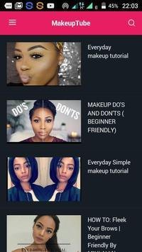 MakeUp Tube poster