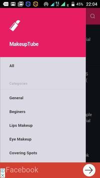 MakeUp Tube screenshot 2