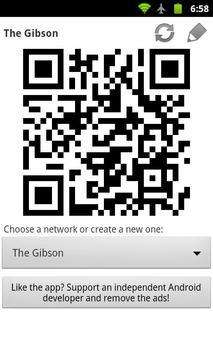 WiFi QR Share poster