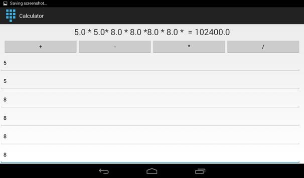 Calculator Gift By Sudhay apk screenshot