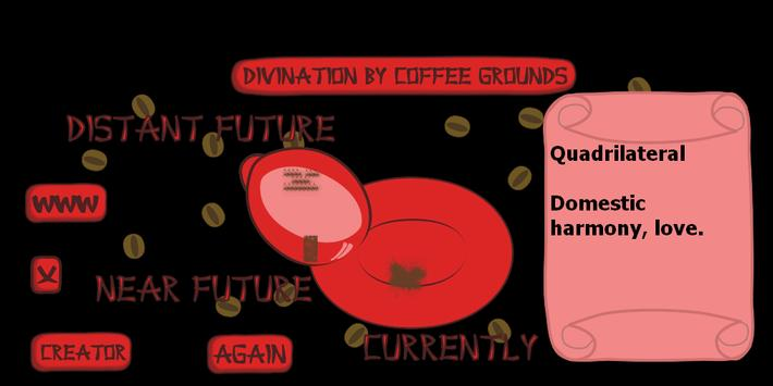 Divination by coffee grounds apk screenshot