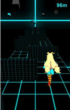 ユニティちゃんの電脳ランニング apk screenshot