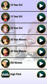 Girl Voice Changer Free apk screenshot