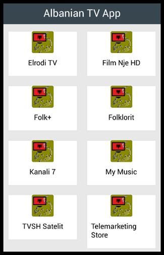 Albanian TV App for Android - APK Download