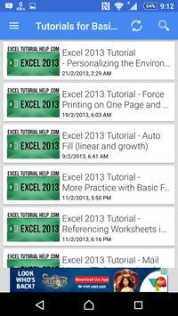 Tutorial For Excel 2013 screenshot 11