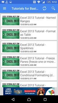 Tutorial For Excel 2013 screenshot 12