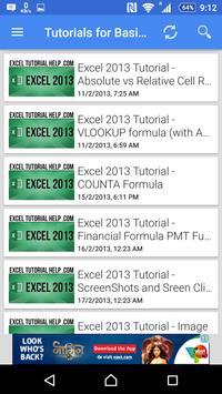 Tutorial For Excel 2013 screenshot 14