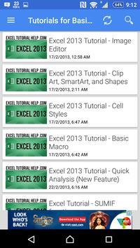 Tutorial For Excel 2013 screenshot 15