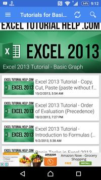Tutorial For Excel 2013 screenshot 16