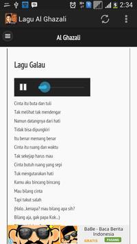 Lagu Al Ghazali Terbaru apk screenshot