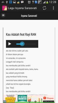 Lagu Isyana Sarasvati Terbaru apk screenshot