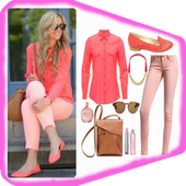 casual wear styles (female) icon