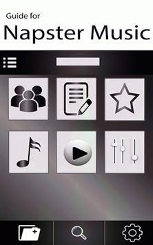 Napster Musica App Advice poster