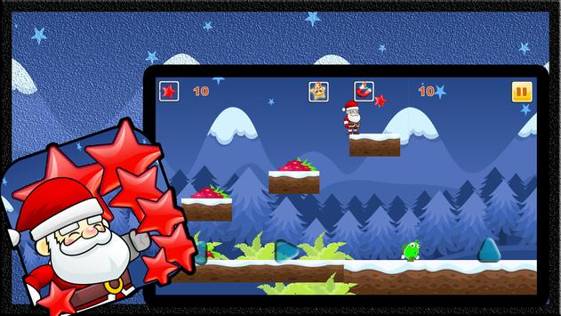 Santa Run Stars apk screenshot