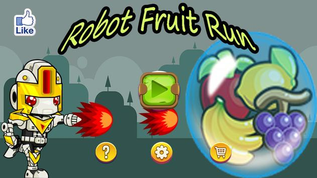 Robot Fruit Run poster