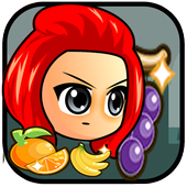 Red Girl Fruit icon