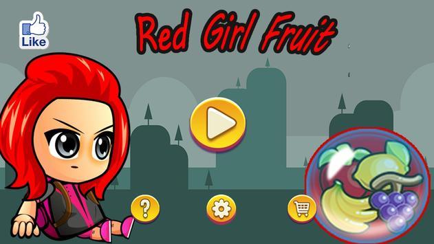 Red Girl Fruit poster