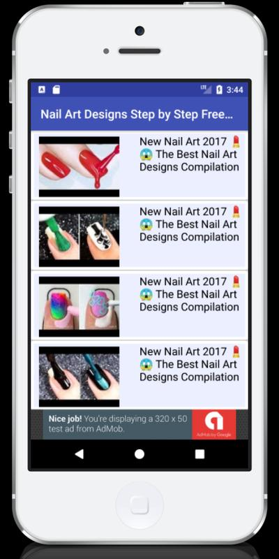 Nail Art Designs Step By Step Free Video For Android Apk Download