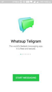 Fast Whatsapp Telegram poster