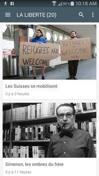 Suisse Presse screenshot 1