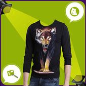 Man T Shirt Suit Photo Editor icon