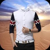Man Shirt Photo Suit Editor icon
