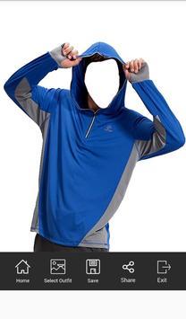 Men Sweatshirt Photo Suit screenshot 3